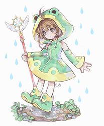 Sakura Froggy Costume by AlpacaCarlesi