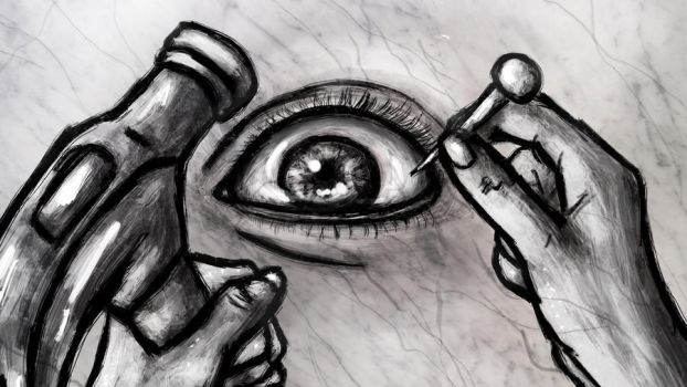 Carve the eye by RustyCroutons