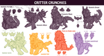 Species wip: Critter Crunchies by KngCorvidae