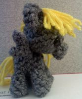 Derpy Hooves Filly Pocket Pony Amigurumi by XantheStar