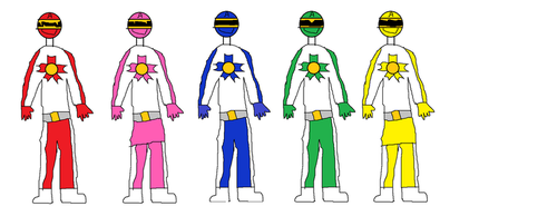 Forceful Sentai Prowleranger A by syer1001