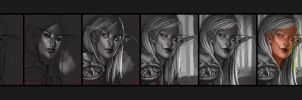 Photoshop Process- Elf by EponaN64
