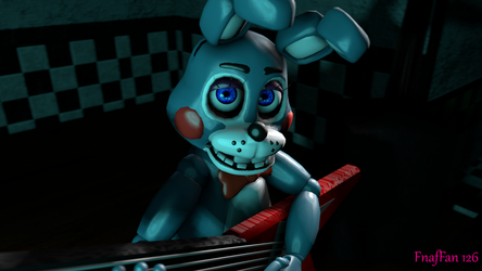 Toy Bonnie (Blue Eyes) by Fnaf-Fan126