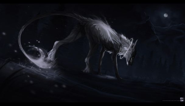 AT: spirit in the night by STAFREE