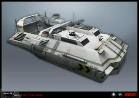 SYNDICATE concept - tactical boat by torvenius