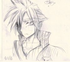 Claud Strif (Cloud Strife) by SomeMonsterFangirl