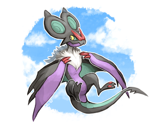 Noivern by buyo-baka