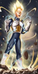 Super Vegeta by Xeitone
