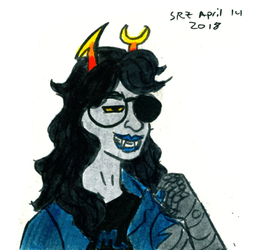April Vriska 2 by sophgoph