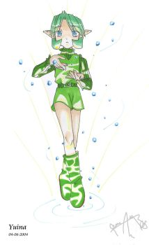 saria water by yuina19
