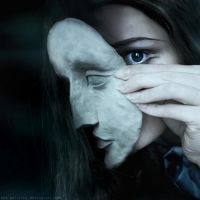 Under every Mask there's Life by Mon-artifice
