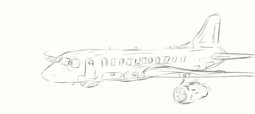 airliner by Sharklover74