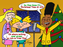 Hey Arnold singing Christmas Time by DJgames