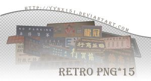 Retro png pack #03 by yynx151