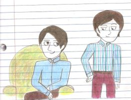 Steve And Jarvis In Color by girlwitharubbersoul