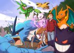 PokeTeam Commission by Future-Infinity
