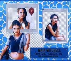 PNG Pack Maia Mitchell by shad-designs