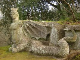 Bomarzo Monster Park 9 by Amor-Fati-Stock