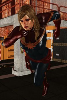one bad day of captain marvel 13 by Toshiie1