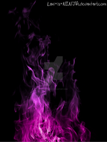 Purple flames with black background by Lani-is-NINJA