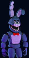 Un-Nightmare Bonnie (Repaired Nightmare Bonnie V2) by TheClassyPlushtrap