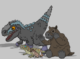 Ark Survival Evolved: 258 Creatures by axoNNNessj