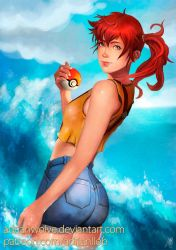 Misty Pokemon Fan Art by AdrianWolve