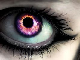evil eye purple by jellibobs