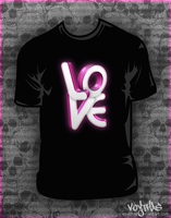 Love multi t-shirt design by VoYtHAs