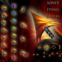 Love's Dying Embers Cursor by boxxi