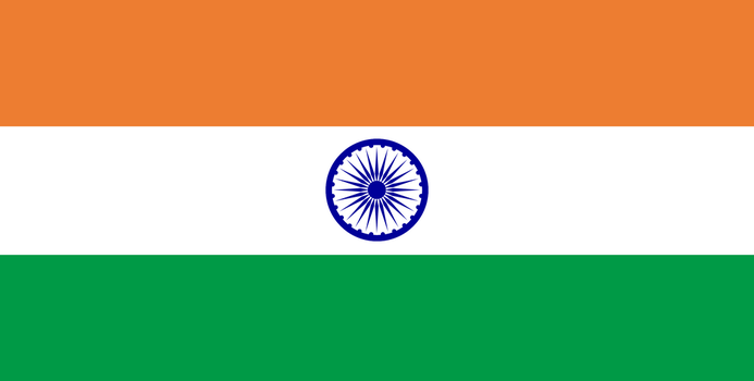 Flag of India by JMK-Prime