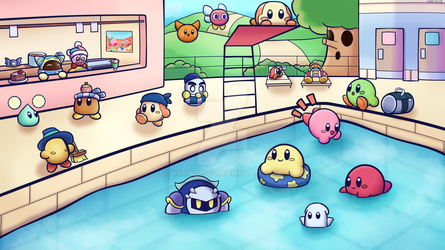 Kirby Summer by mariag2002