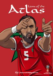 Morocco - Medhi Benatia by dicky10official