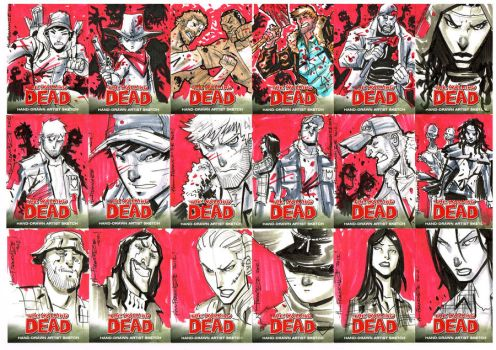 Walking Dead Cards by theFranchize