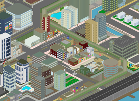 Pixel City by imlostinthecheese