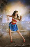 Wonder Woman Saves the Day by charmedy