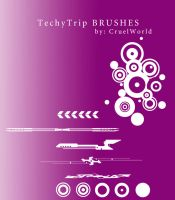 TechyTrip Brushes by CruelWorld
