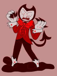 Red Ink Bendy by ShinySmeargle