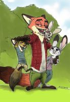 Family Wilde Hopps by Asestrada157