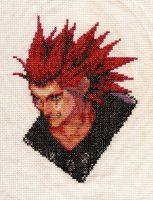 Axel - CoM Cross Stich by CrossXXXDestiny