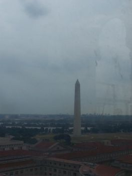 Washington DC from above by AldenEcho