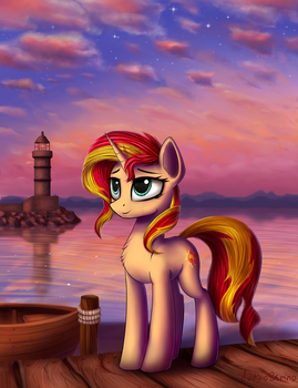 Sunset by AdagioString