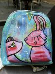 Bunny+Cat Backpack by wildgica