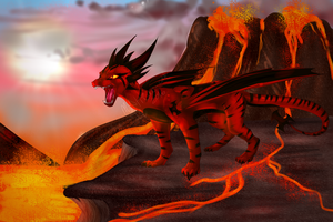 volcanic queen [recorded] by x-moondoll