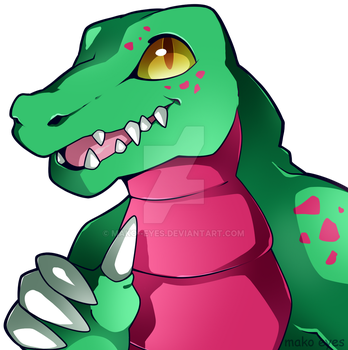 [C] Thumbs up! by mako--eyes