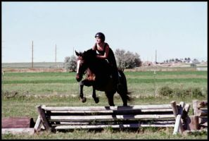 Mahris and I Jumping by MalletGirl