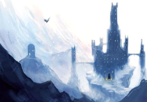 Winter Castle by Stuart-Allardes