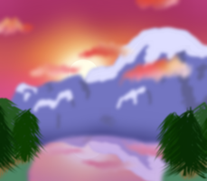 Landscape Practice 1 by theshadowpony357