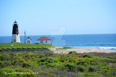 Point Judith Lighthouse, RI by ruthelane