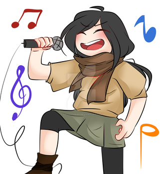 KARAOKE QUEEN! by Sadiestreak